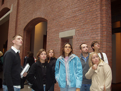 Indiana State University honors students visited the United States Holocaust Memorial in Washington, D.C. in fall 2007. ISU/Ann Rider