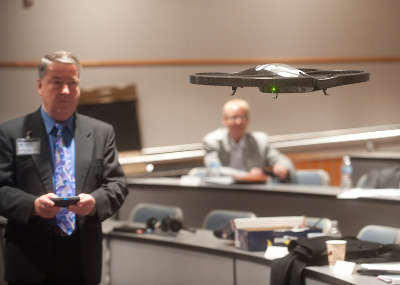 Indiana State officials plan unmanned systems, Homeland Security centers
